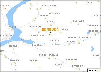 map of Borovka