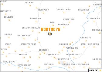 map of Bortnoye