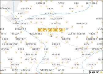 map of Bory Sobieski
