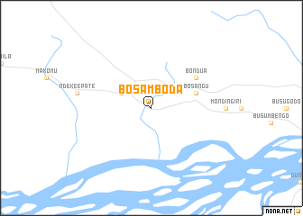 map of Bosamboda