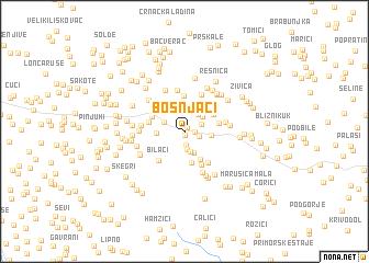 map of Bošnjaci