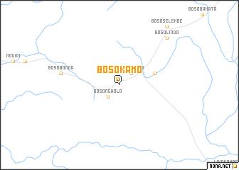 map of Bosokamo