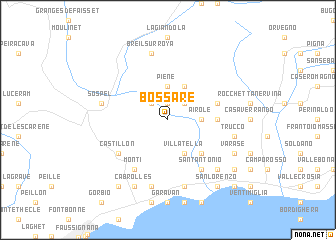 map of Bossare