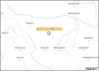 map of Bossembaté II