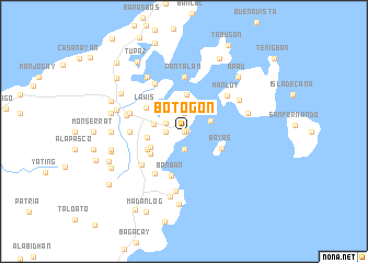 map of Botogon