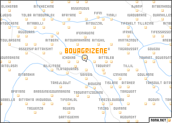 map of Bouagrizene