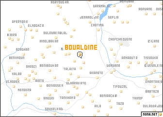 map of Boualdine