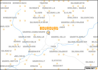 map of Bou Aouad