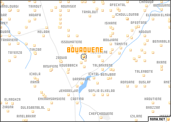 map of Bouaouene