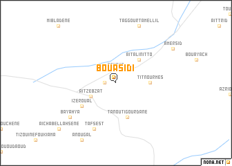map of Boua Sidi