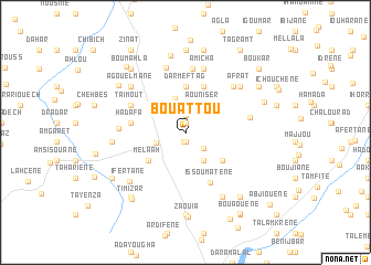 map of Bouattou