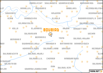map of Boubiad