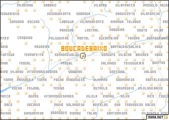 map of Bouça de Baixo