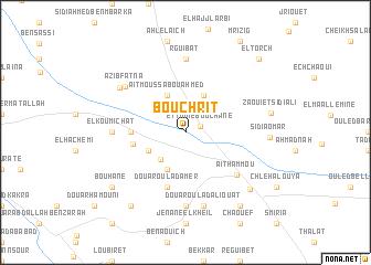 map of Bouchrit