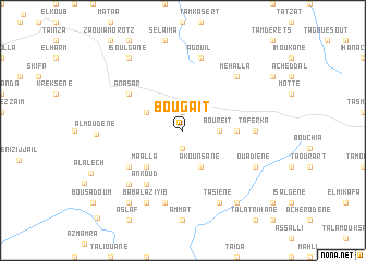 map of Bou gaït