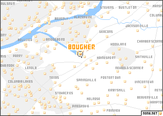 map of Bougher