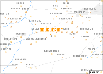 map of Bouguerine