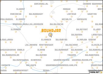 map of Bouhajar