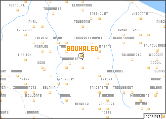 map of Bou Haled