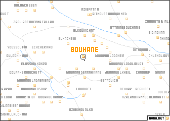 map of Bouhane