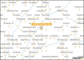 map of Bou Idourane
