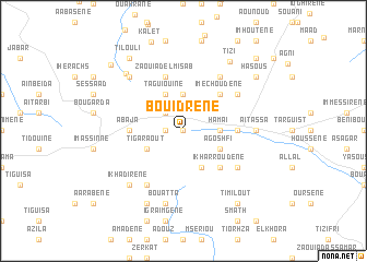 map of Bouidrene