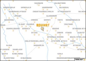 map of Bouihat