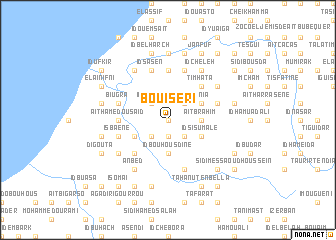 map of Bouiseri