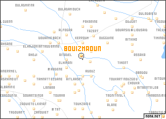 map of Bou Izmaoun
