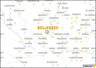 map of Boujebbar