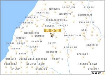 map of Bouksaa