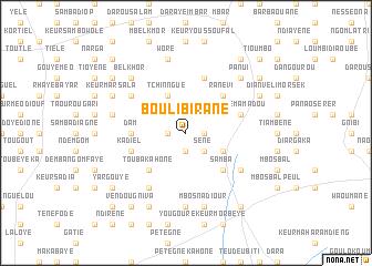 map of Bouli Birane