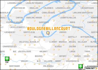 map of Boulogne-Billancourt