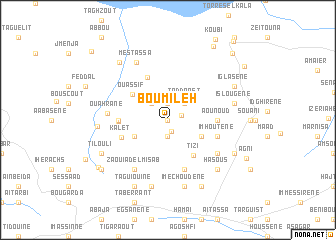 map of Boumileh