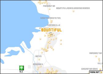 Bountiful United States  USA Map  Nona