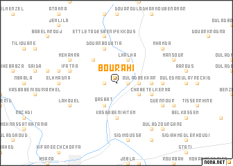map of Bou Rahi
