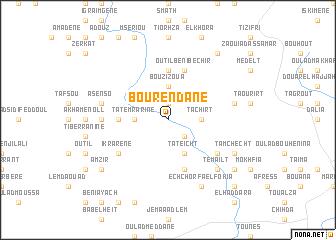 map of Bou Rendane