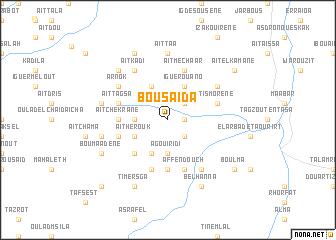 map of Bousaïda