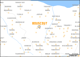 map of Bouscout