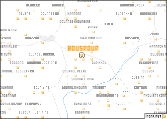 map of Bou Srour