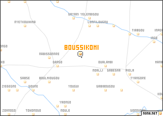 map of Boussikomi