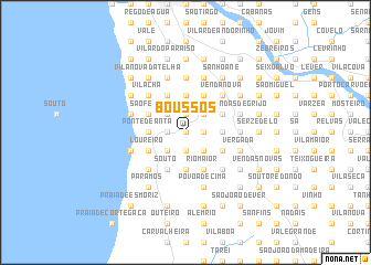 map of Boussos
