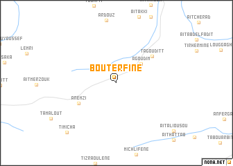 map of Bou Terfine