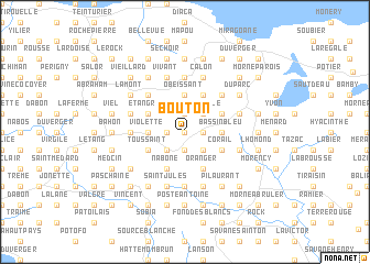 map of Bouton