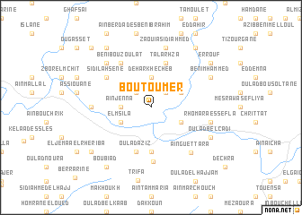 map of Boutoumer