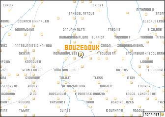 map of Bouzedouk