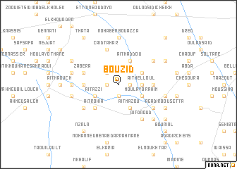 map of Bou Zid