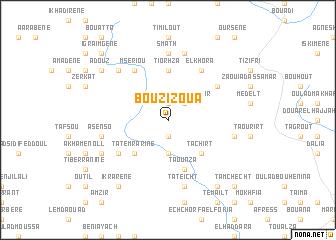 map of Bou Zizoua