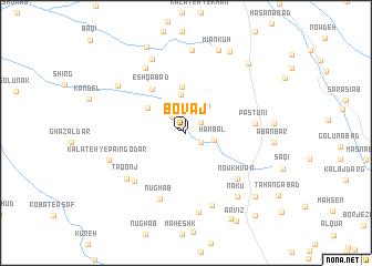 map of Bovāj