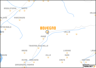 map of Bovegno